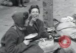 Image of Hungarian-Jewish laborers Wurzen Germany, 1945, second 14 stock footage video 65675073956