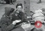 Image of Hungarian-Jewish laborers Wurzen Germany, 1945, second 15 stock footage video 65675073956