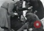 Image of Hungarian-Jewish laborers Wurzen Germany, 1945, second 20 stock footage video 65675073956