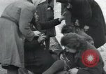 Image of Hungarian-Jewish laborers Wurzen Germany, 1945, second 21 stock footage video 65675073956