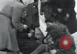 Image of Hungarian-Jewish laborers Wurzen Germany, 1945, second 22 stock footage video 65675073956