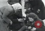 Image of Hungarian-Jewish laborers Wurzen Germany, 1945, second 24 stock footage video 65675073956