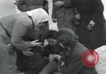 Image of Hungarian-Jewish laborers Wurzen Germany, 1945, second 26 stock footage video 65675073956