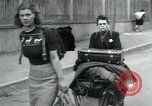 Image of Hungarian-Jewish laborers Wurzen Germany, 1945, second 28 stock footage video 65675073956