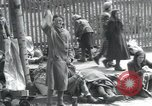 Image of Hungarian-Jewish laborers Wurzen Germany, 1945, second 36 stock footage video 65675073956