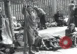Image of Hungarian-Jewish laborers Wurzen Germany, 1945, second 37 stock footage video 65675073956
