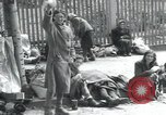 Image of Hungarian-Jewish laborers Wurzen Germany, 1945, second 39 stock footage video 65675073956