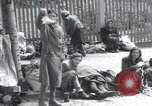 Image of Hungarian-Jewish laborers Wurzen Germany, 1945, second 40 stock footage video 65675073956