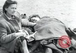 Image of Hungarian-Jewish laborers Wurzen Germany, 1945, second 43 stock footage video 65675073956