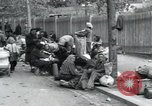 Image of Hungarian-Jewish laborers Wurzen Germany, 1945, second 52 stock footage video 65675073956
