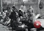 Image of Hungarian-Jewish laborers Wurzen Germany, 1945, second 58 stock footage video 65675073956