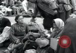 Image of Hungarian-Jewish laborers Wurzen Germany, 1945, second 62 stock footage video 65675073956