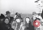 Image of Jewish refugees fleeing Europe early World War 2 New York City USA, 1941, second 42 stock footage video 65675074118