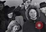 Image of Jewish refugees fleeing Europe early World War 2 New York City USA, 1941, second 52 stock footage video 65675074118