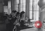 Image of Native American Indian students learn vocations United States USA, 1933, second 51 stock footage video 65675075302