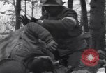 Image of Medic tends to wounded American soldier Wegscheid Germany, 1945, second 11 stock footage video 65675075891