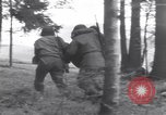 Image of Medic tends to wounded American soldier Wegscheid Germany, 1945, second 28 stock footage video 65675075891