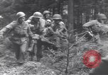 Image of Medic tends to wounded American soldier Wegscheid Germany, 1945, second 32 stock footage video 65675075891