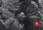 Image of Medic tends to wounded American soldier Wegscheid Germany, 1945, second 41 stock footage video 65675075891