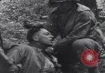 Image of Medic tends to wounded American soldier Wegscheid Germany, 1945, second 42 stock footage video 65675075891
