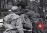 Image of Medic tends to wounded American soldier Wegscheid Germany, 1945, second 56 stock footage video 65675075891