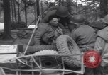 Image of Medic tends to wounded American soldier Wegscheid Germany, 1945, second 58 stock footage video 65675075891
