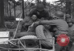 Image of Medic tends to wounded American soldier Wegscheid Germany, 1945, second 61 stock footage video 65675075891