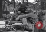 Image of Medic tends to wounded American soldier Wegscheid Germany, 1945, second 62 stock footage video 65675075891