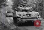 Image of wounded US Soldier tank crew World War 2 Wegscheid Germany, 1945, second 8 stock footage video 65675075892