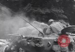 Image of wounded US Soldier tank crew World War 2 Wegscheid Germany, 1945, second 28 stock footage video 65675075892