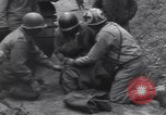 Image of wounded US Soldier tank crew World War 2 Wegscheid Germany, 1945, second 30 stock footage video 65675075892