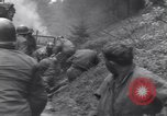 Image of wounded US Soldier tank crew World War 2 Wegscheid Germany, 1945, second 36 stock footage video 65675075892