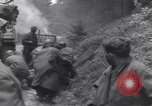 Image of wounded US Soldier tank crew World War 2 Wegscheid Germany, 1945, second 38 stock footage video 65675075892