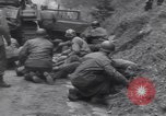 Image of wounded US Soldier tank crew World War 2 Wegscheid Germany, 1945, second 40 stock footage video 65675075892