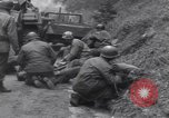 Image of wounded US Soldier tank crew World War 2 Wegscheid Germany, 1945, second 41 stock footage video 65675075892