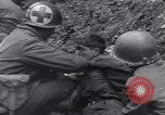Image of wounded US Soldier tank crew World War 2 Wegscheid Germany, 1945, second 42 stock footage video 65675075892