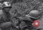Image of wounded US Soldier tank crew World War 2 Wegscheid Germany, 1945, second 45 stock footage video 65675075892