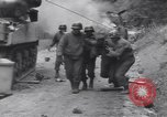 Image of wounded US Soldier tank crew World War 2 Wegscheid Germany, 1945, second 46 stock footage video 65675075892