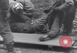 Image of wounded US Soldier tank crew World War 2 Wegscheid Germany, 1945, second 50 stock footage video 65675075892