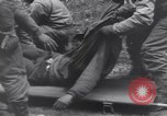 Image of wounded US Soldier tank crew World War 2 Wegscheid Germany, 1945, second 51 stock footage video 65675075892