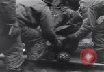 Image of wounded US Soldier tank crew World War 2 Wegscheid Germany, 1945, second 53 stock footage video 65675075892