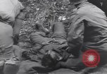 Image of wounded US Soldier tank crew World War 2 Wegscheid Germany, 1945, second 56 stock footage video 65675075892