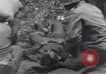 Image of wounded US Soldier tank crew World War 2 Wegscheid Germany, 1945, second 57 stock footage video 65675075892