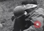 Image of wounded US Soldier tank crew World War 2 Wegscheid Germany, 1945, second 62 stock footage video 65675075892