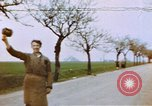 Image of U.S. tank firing at building Germany, 1945, second 1 stock footage video 65675076294
