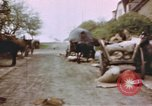 Image of U.S. tank firing at building Germany, 1945, second 26 stock footage video 65675076294