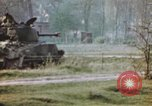 Image of U.S. tank firing at building Germany, 1945, second 42 stock footage video 65675076294