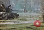 Image of U.S. tank firing at building Germany, 1945, second 43 stock footage video 65675076294
