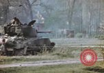 Image of U.S. tank firing at building Germany, 1945, second 44 stock footage video 65675076294