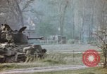 Image of U.S. tank firing at building Germany, 1945, second 46 stock footage video 65675076294